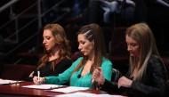 Илиана, Георгина и Нели като част от комисията на кастинга за ''Магаданс - стани една от нас!''