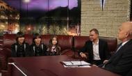 Евгени Димитров, Крисия, Хасан и Ибрахим разказват на Слави за детската Евровизия, 17.11.2014 г.