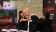 Г-ца Тереза и г-н Андреев подаряват прегръдка на Слави в ''Запознай се с малките'', 22.11.2013 г.
