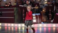 Диана Чаушева изпълнява песента ''Междучасие'' в първата задача на финалистките, 13.01.2014 г.