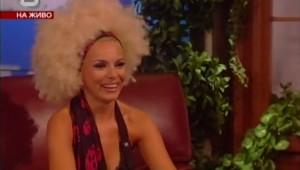Алисия - гост в Шоуто на Слави 18.06.2009