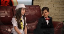 """Г-ца Крисия и г-н Андрреев в """"Запознай се с малките"""""""