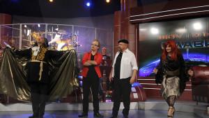 Актьорска вечер с образите на Ловците на митове, Филип Киркоров и Димитричка