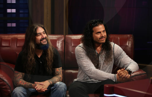 Jeff Scott Soto and Mike Portnoy
