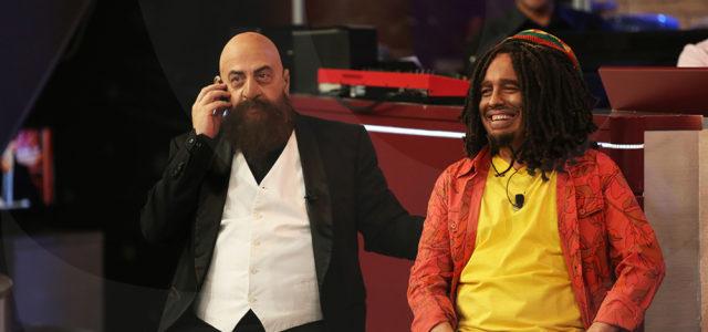 Краси Радков в образа на Астор и Иво Сиромахов като Боб Марли