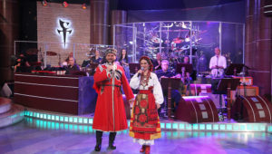 Виктор Сорокин и Евгения Попова