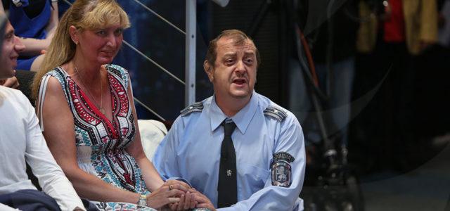 Краси Радков в ролята на Майор Костов